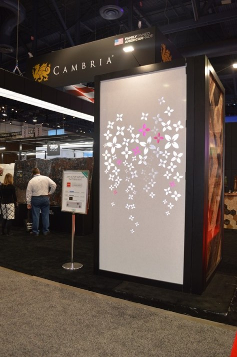 Cambria Booth KBIS 2014