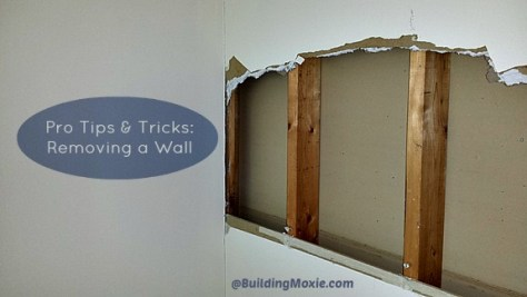 pro tricks and tips for taking out a wall