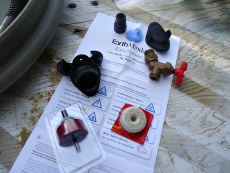 EarthMinded Rain Barrel Kit