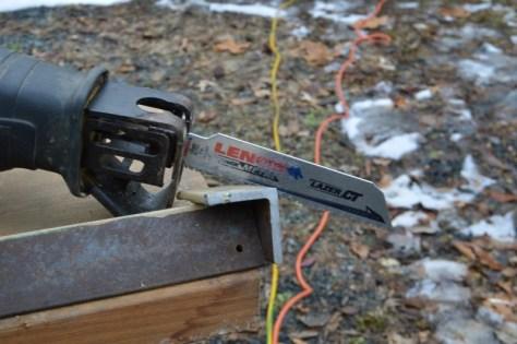 Cut LAZER CT heavy metal blade