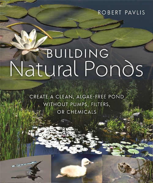 building natural ponds by Robert Pavlis