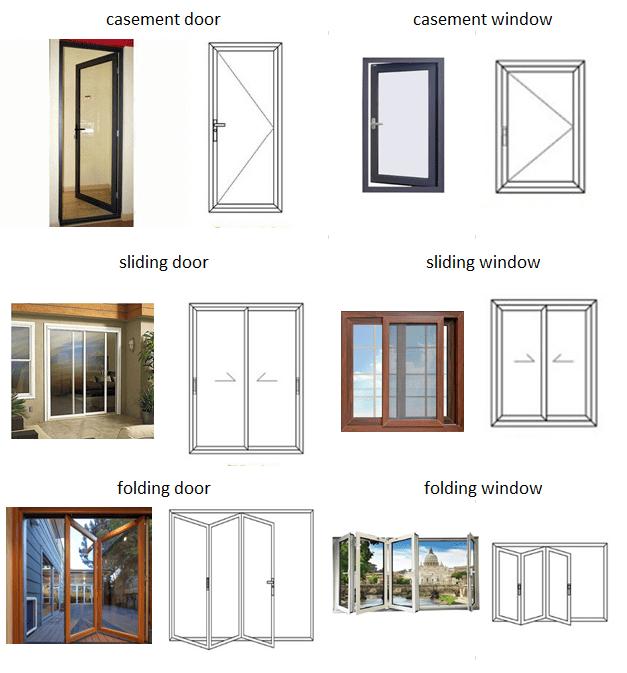 custom aluminium bi folding patio doors energy saving for exterior patio