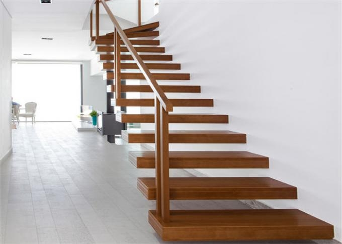 Minimalist Modern Wooden Staircase Designs Floating Stairs With | Modern Wood Staircase Railing | Interior | Stylish | Wall Mounted | Contemporary | House