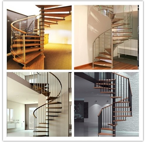 White Stainless Steel Spiral Staircase Strong Spiral Stairs For   Spiral Staircase Design For Small Spaces   Diseños   Cool   Tiny House   Attractive   Beautiful