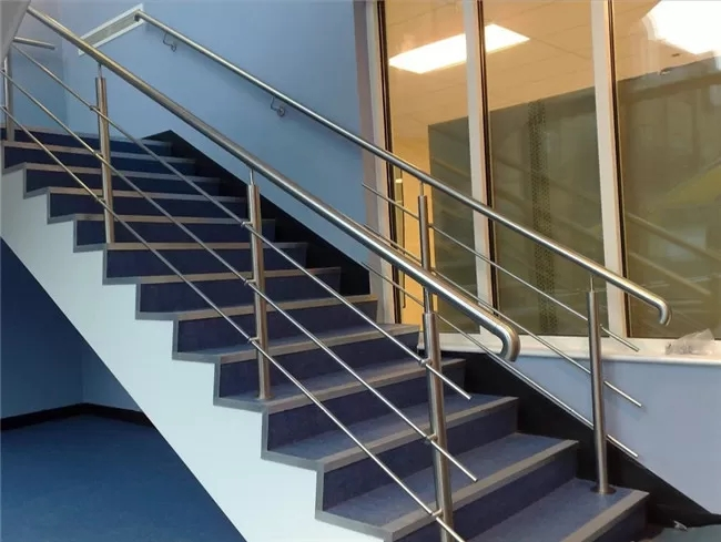 316 304 Stainless Steel Stair Railing 12 7Mm Rod Diameter Indoor | Stainless Steel Handrails For Outdoor Steps | Modern | Safety | Staircase | Garden | External