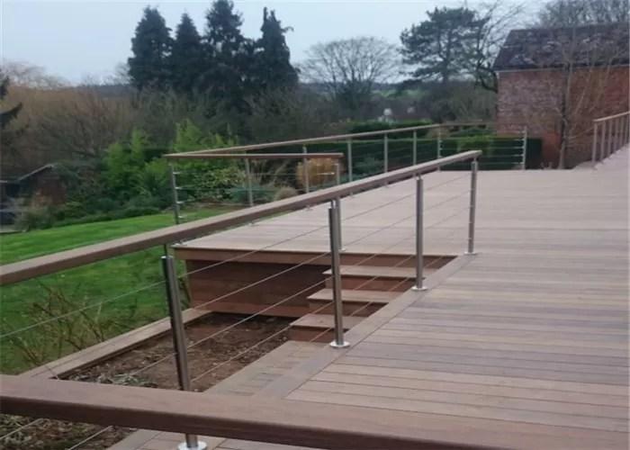 Modern Design Stainless Steel Railing Stair Post Galvanized Steel   Steel Railing For Steps   Modular   Wooden   Terrace   Modern Farmhouse   Loha