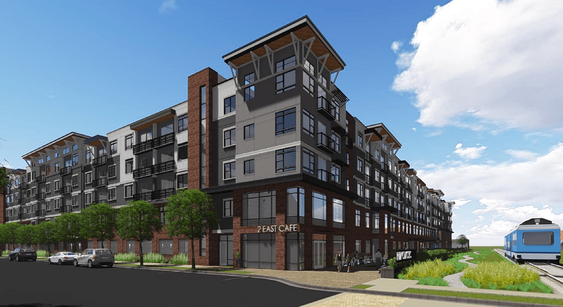 Rendering of the Ritz Classic Apartments