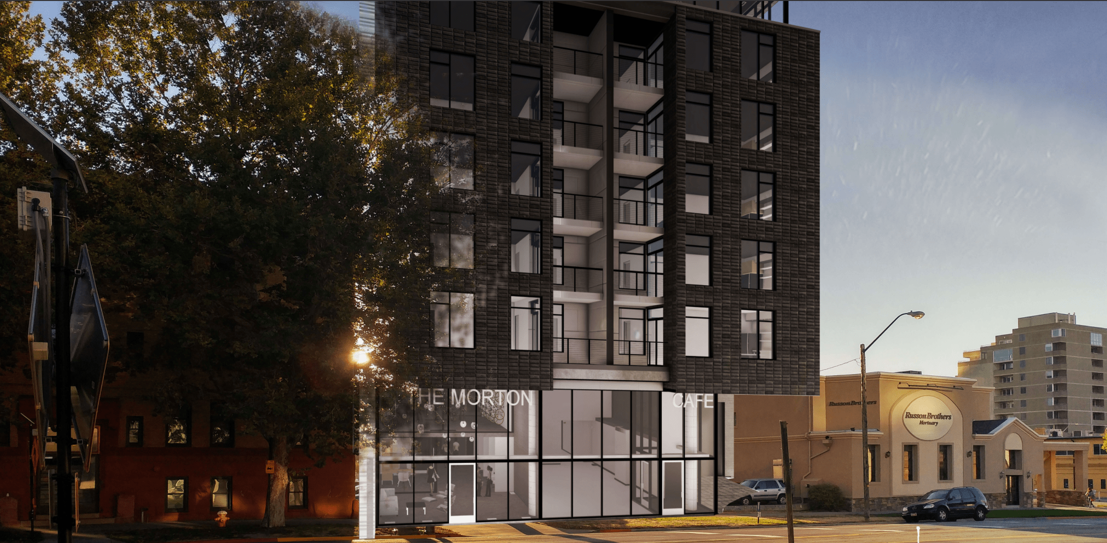Rendering Of The Morton. Image Courtesy AJC Architects.