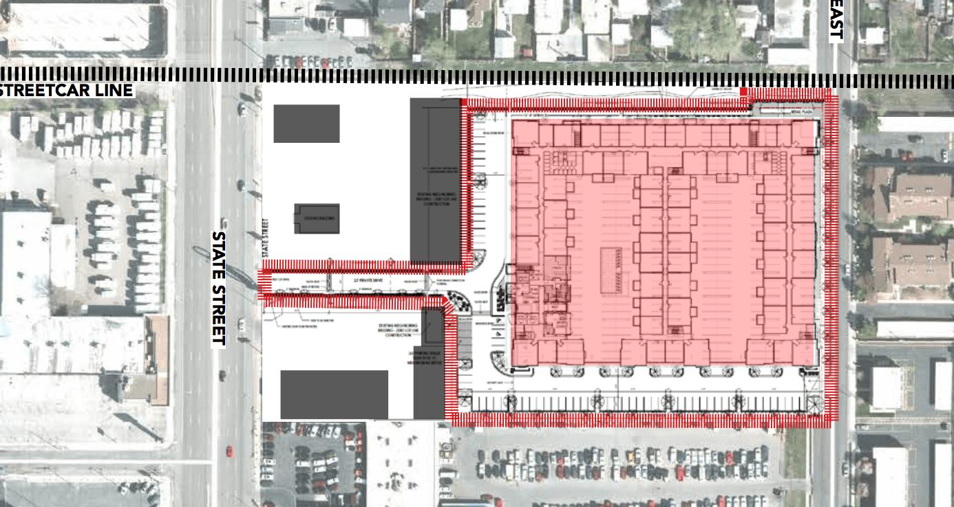 Site plan Ritz Classic Apartments