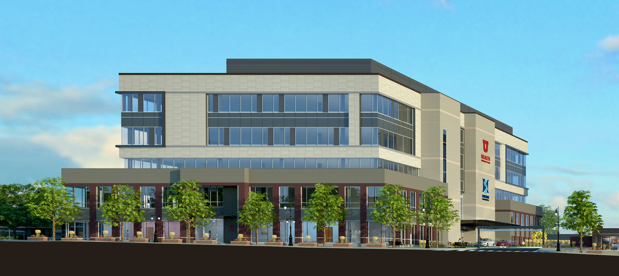 Revised Design Of The University Of Utah Medical Clinic As Part Of The  Redevelopment Of The Shopko Block. Image Courtesy Dixon Architects.