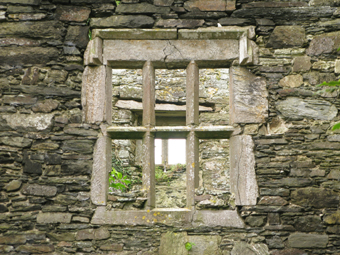 Mountlong Castle, County Cork 02 - Window
