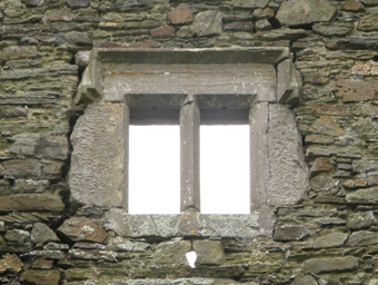 Mountlong Castle, County Cork 03 - Window