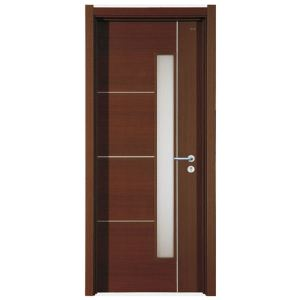 Wooden Door Simple and fashionable design of European style.
