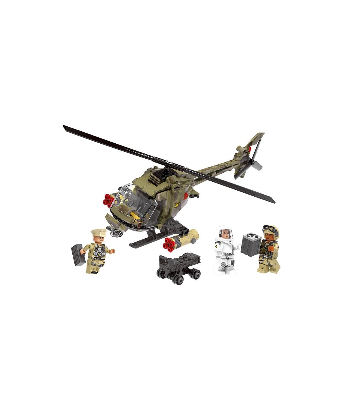 Xingbao Light Hawk Helicopter Building Bricks Set