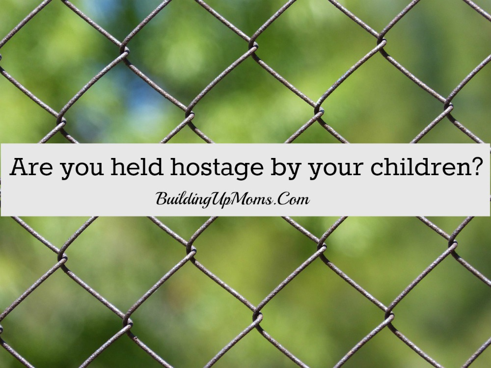 Ever feel that you are held hostage by your children? Don't. Giving in to a child's demands or suffer their temper tantrums is not love.