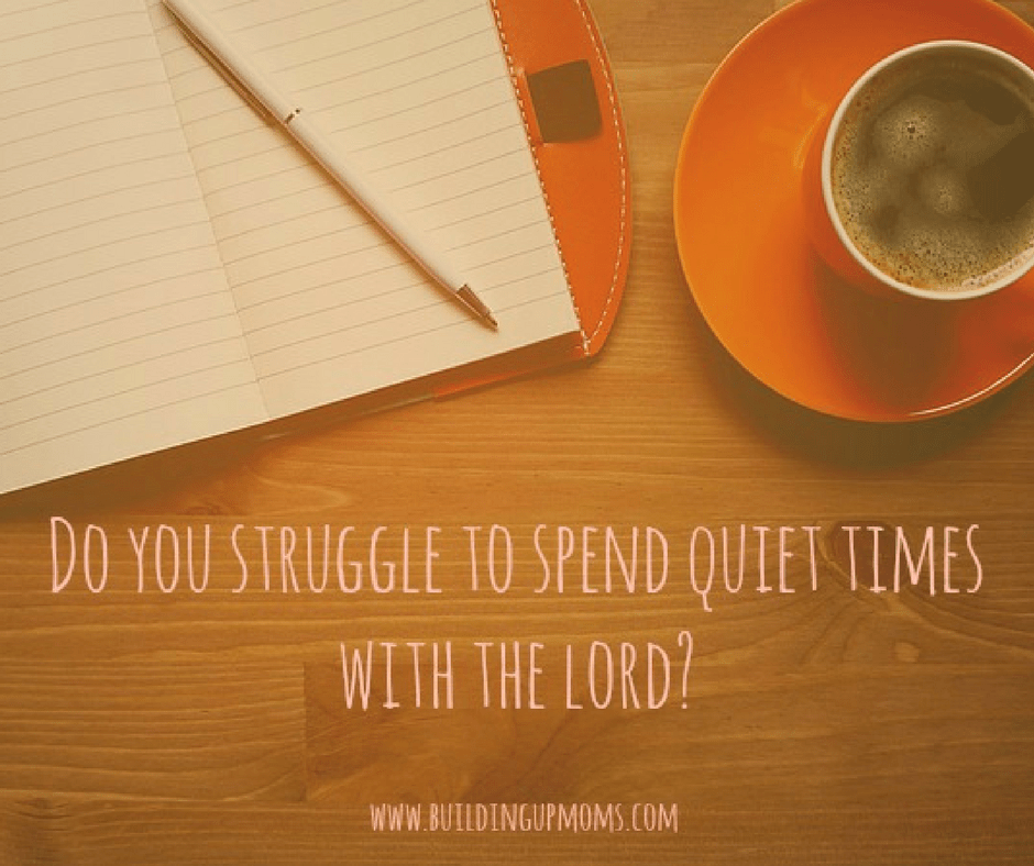 Are you struggling to spend Quiet Time with the Lord? These practical tips can help you.