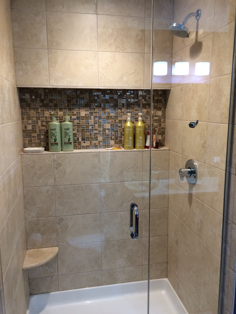 Shower Niche Bathroom Remodeling Oconomowoc Pewaukee