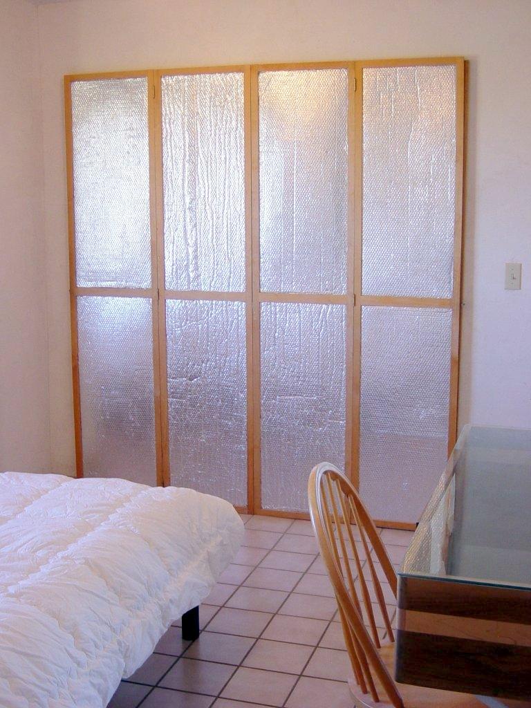 Insulating Window Or Door Shutters Using Astrofoil