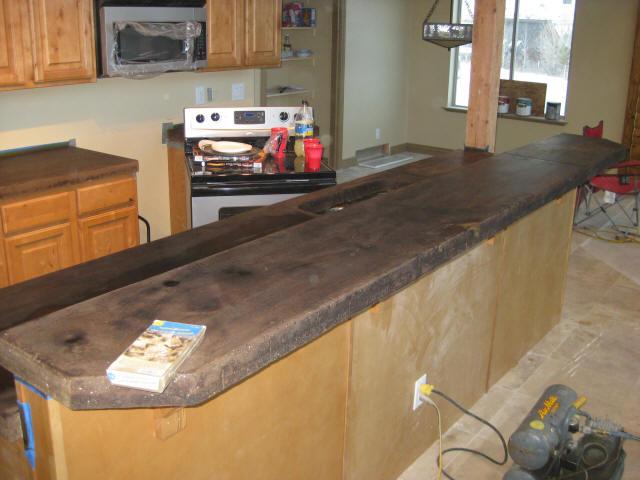 Acid Staining Concrete Countertops