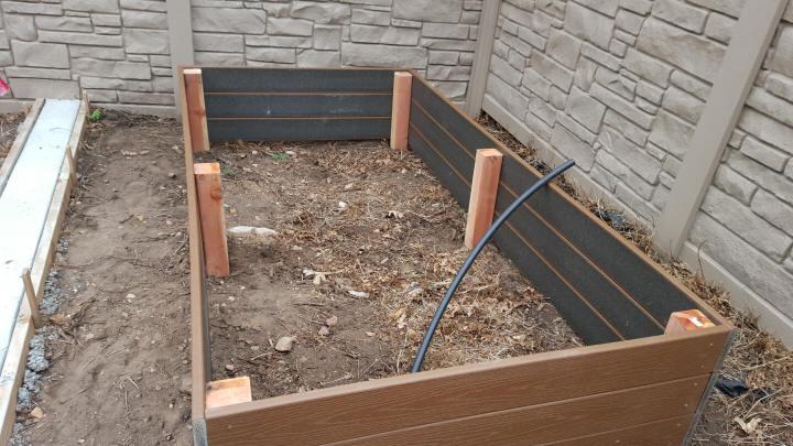 Building Raised Garden Wood