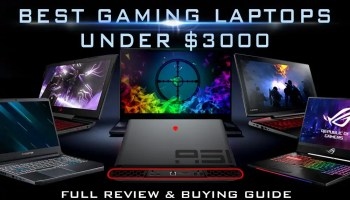 Best Gaming Laptops under 3000 USD