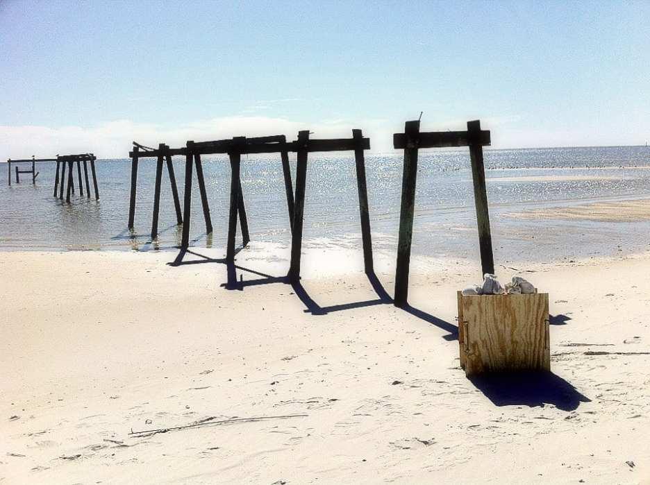 Camera on the Beach by S.G. Stevens