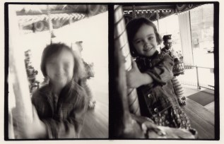 Emma on the Carousel