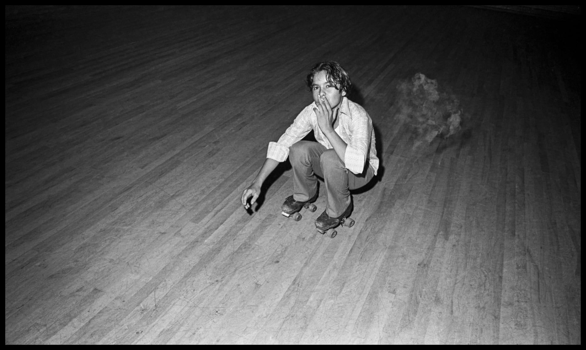 Sweetheart Roller Skating Rink - 1972-1973 - Six Mile Creek, Hillsborough County (Tampa) FL ©Bill Yates