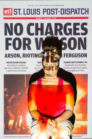 Ferguson, he was someone's baby.
