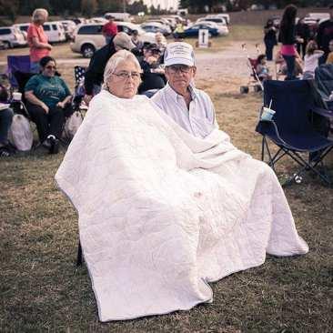 Couple at Harmonica Festival, Fairview, TN