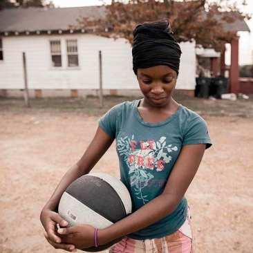 Young girl, Vicksburg, MS
