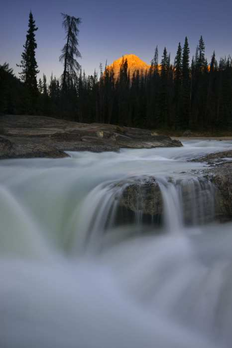 Kicking Horse River near Natural Bridge, Yoho National Park, Canada ©Peter Essick