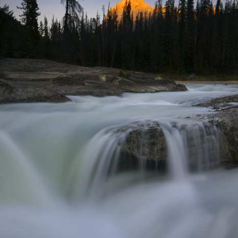 Kicking Horse River near Natural Bridge, Yoho National Park, Canada ©Peter Essick