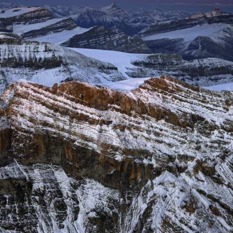 Continental Divide, Yoho National Park, Canada ©Peter Essick