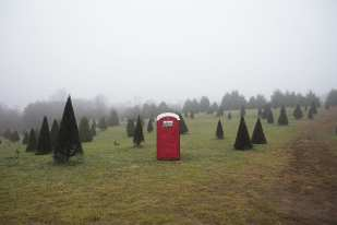 The Outhouse at the Christmas Tree Farm ©Amanda Greene