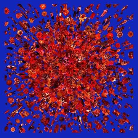 Re-Collections VIII (rojo con Azul) 2009 ©Carlos Betancourt