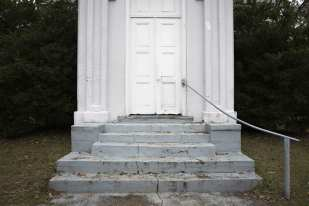 Gray Stairs, White Door, Port Gibson, MS