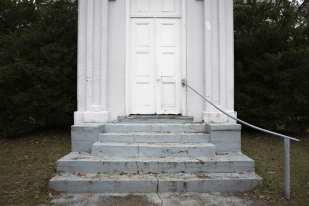 Gray Stairs, White Door, Port Gibson, MS