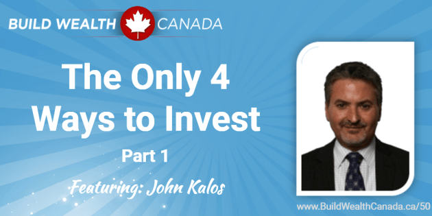 The Only 4 Ways to Invest - John Kalos (o)