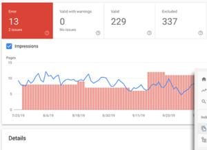 احصائيات جوجل