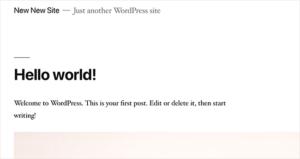 عدم مسح الموضوع الافتراضي اخطاء ووردبريس الشائعة