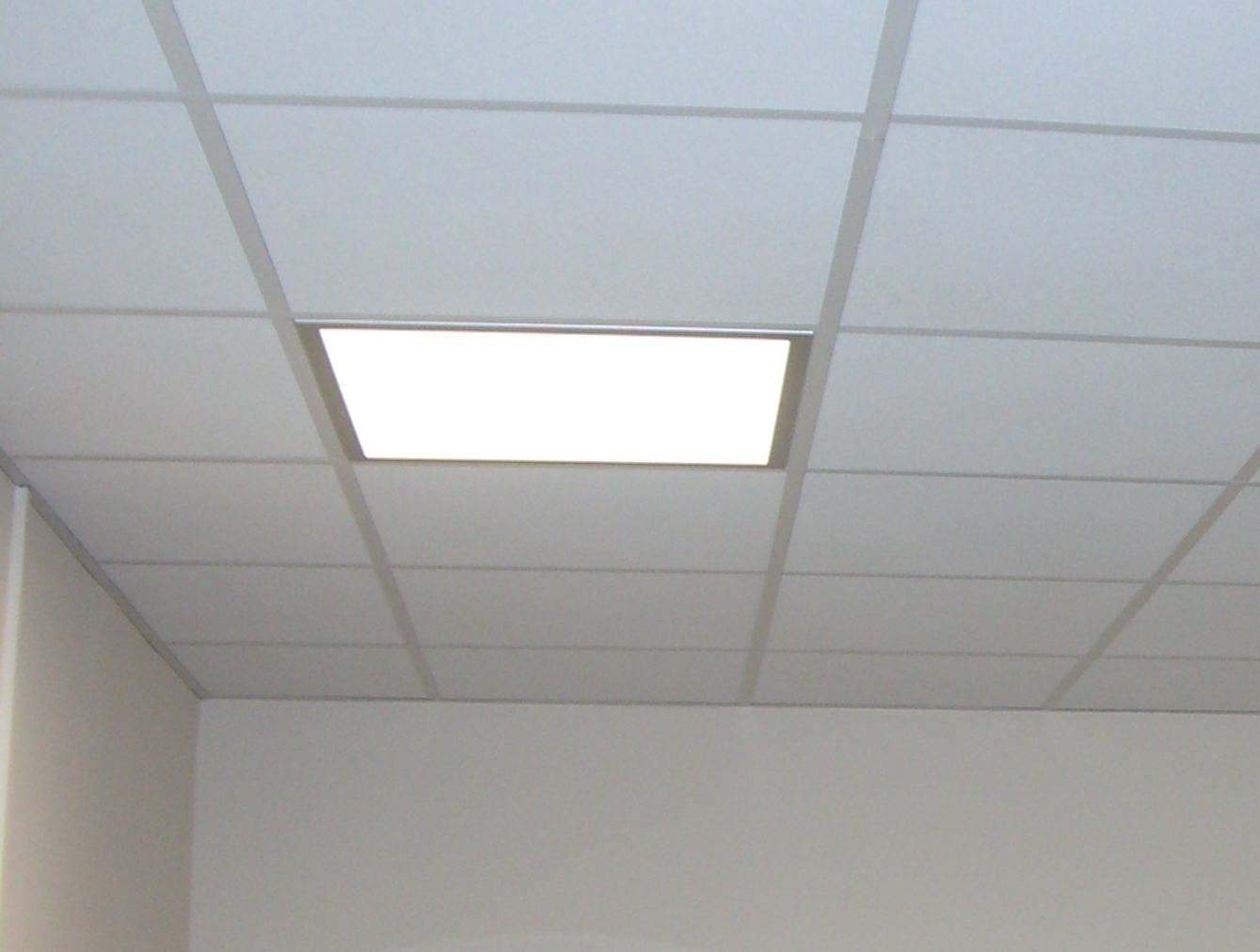 Insulation Above Suspended Ceiling Tiles