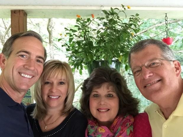 Brad, Heidi, Julie, and David
