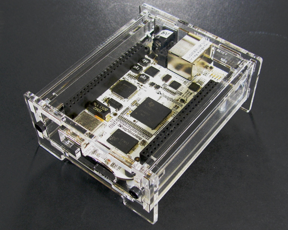 Transparent enclosure