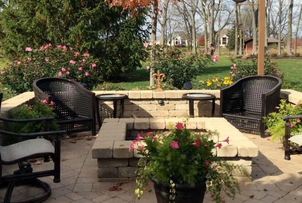 Rick Hamilton Homes - Indianapolis Custom Home builders backyard design