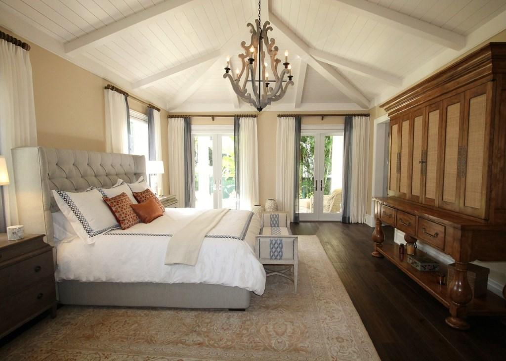 Custom home designs for master suites.