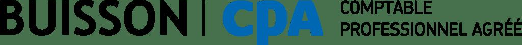 Logo de Buisson, CPA, Comptable Professionnel Agréé