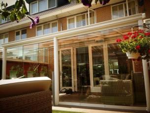 AluCover veranda met schuifsysteem BUITEN! by Bazelmans