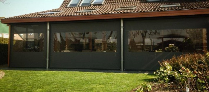 Rits screen SolidScreen BUITEN! by Bazelmans