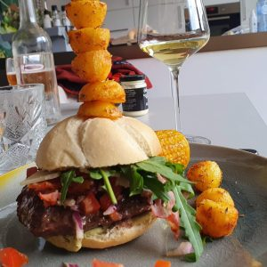 Texas Longhorn Burger